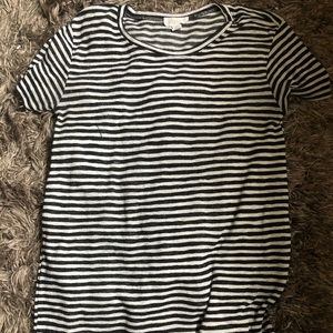 f21 striped t-shirt dress⭐️🖤